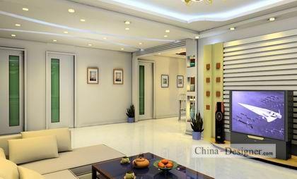 客厅-冰蛋的设计师家园-住宅公寓