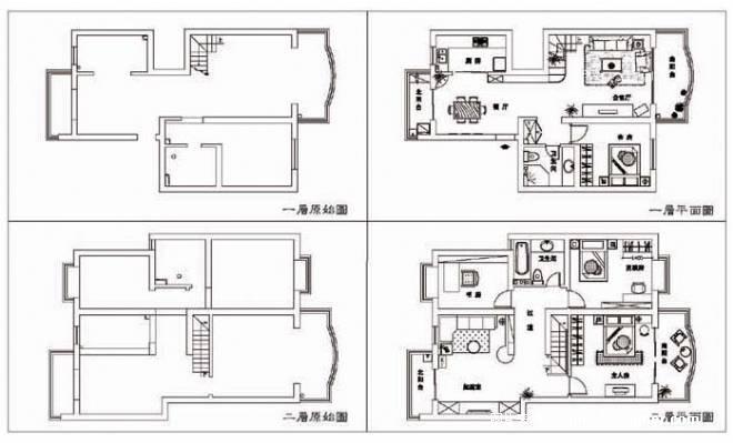 《平面图》-设计师:雷晶.设计师家园-创艺空间工作室图片