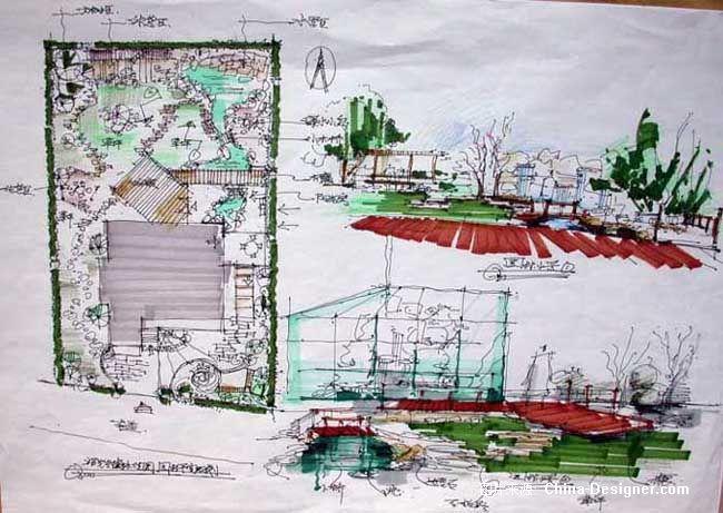 别墅园林设计-樊健的设计师家园-别墅