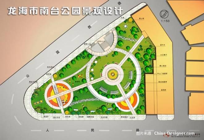 龙海南台公园平面图-失眠的猫的设计师家园-公园广场