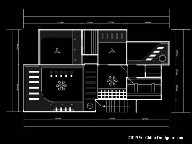 天棚平面配置图-杨柳的设计师家园-住宅公寓