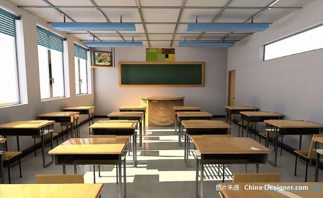 教室-石彬煜的设计师家园-学校室内设计一般图片