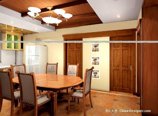 餐厅及隐形门-吴勇的设计师家园-餐饮酒吧