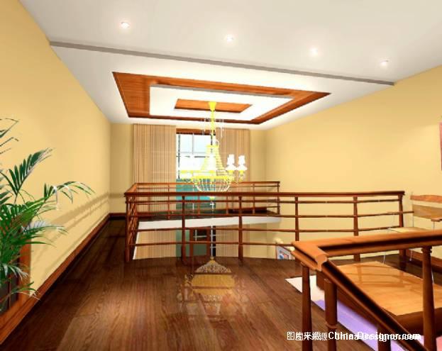 挑空吊顶-吴勇的设计师家园-住宅公寓