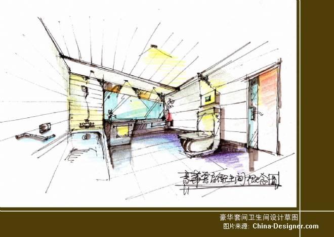 套房卫生间草图-方路沙的设计师家园-其他