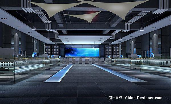 作战指挥室-武汉三原色建筑装饰技术设计事务所的设计师家园-会展剧场