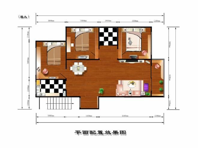 彩平-杨柳的设计师家园-住宅公寓