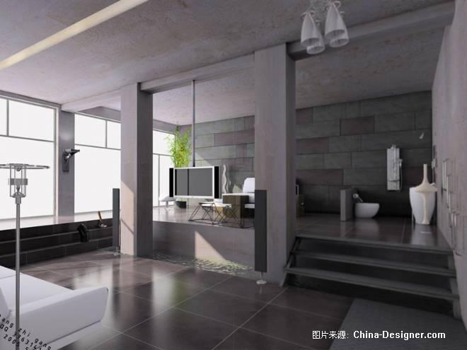 灰色空间-汤志刚的设计师家园-住宅公寓
