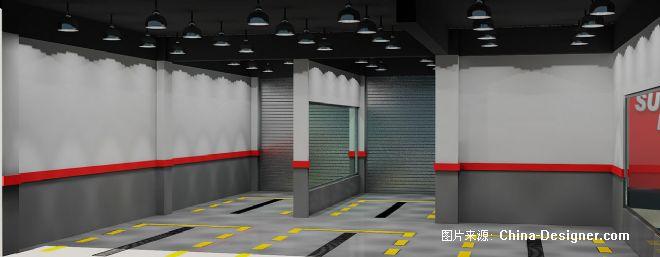 车间效果图-海山的设计师家园-专卖展示店