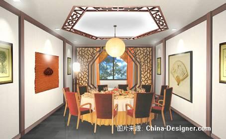 酒店中式包间-张堃的设计师家园-商场图片