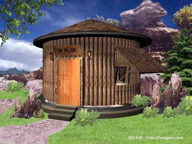 某景点野味餐厅-甘琳的设计师家园-餐饮酒吧