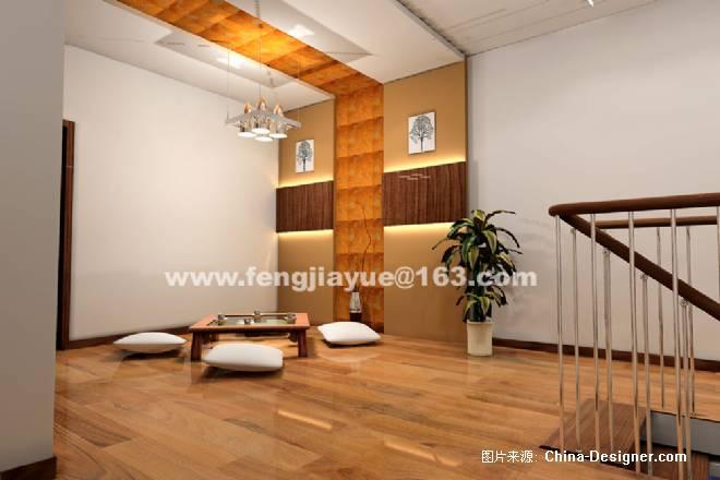 二层休息室效果图-冯加跃的设计师家园-住宅公寓