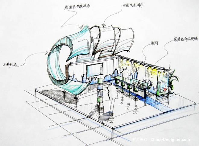 《宣传大连的展位设计2》-设计师:梨猫.设计师家园-梨