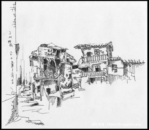 老重庆风景线描