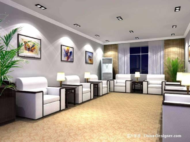 接待室效果图-荆州市鼎盛世嘉装饰工程有限公司的设计师家园-办公楼图片