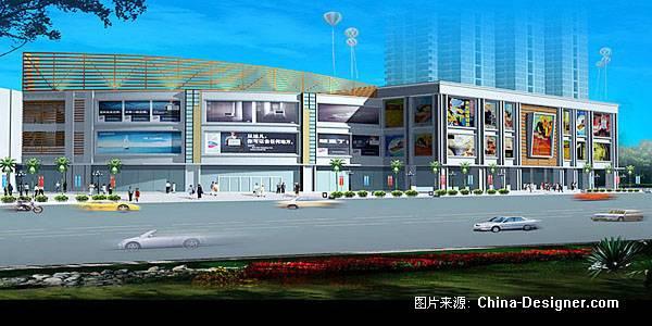 商城外观-益鹏翡的设计师家园-商场