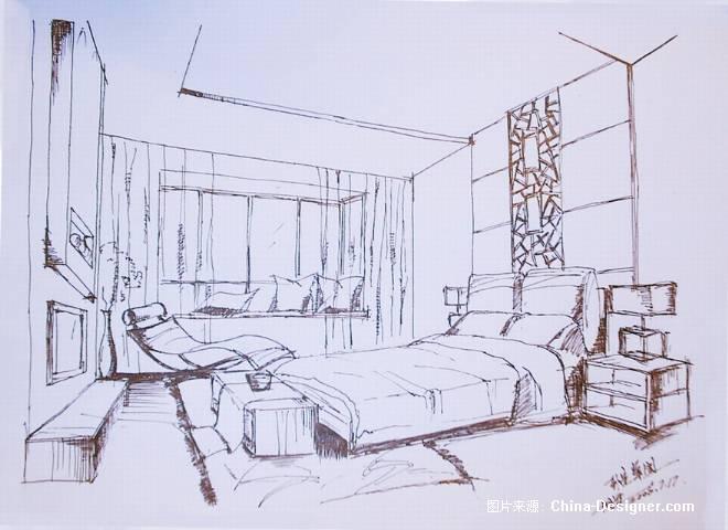 房子室内简笔画