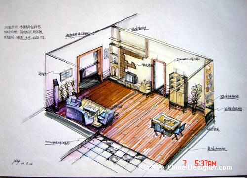 室内设计cad古建设计图图片