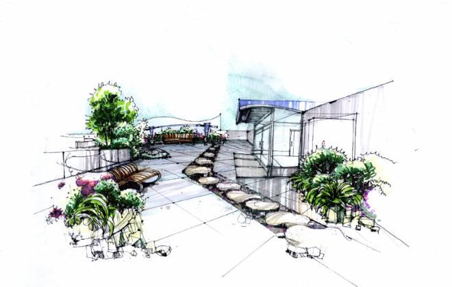 屋顶花园-tan的设计师家园-休闲健身会所