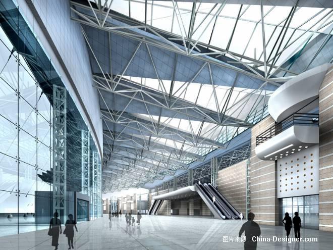 义乌会展中心室内-郑州清水建筑画设计有限公司的设计师家园-会展剧场图片