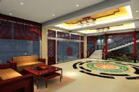 设计师家园-中式酒店大厅