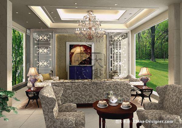 宅院别墅-大唐世家(中国)室内设计顾问公司的设计师家园-别墅,欧式
