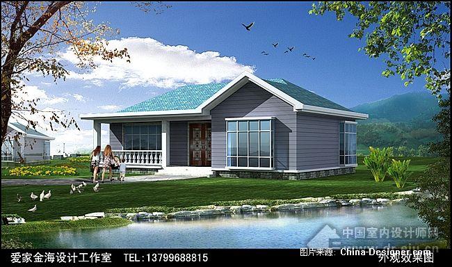 单层别墅外观图-邹春雷的设计师家园-现代