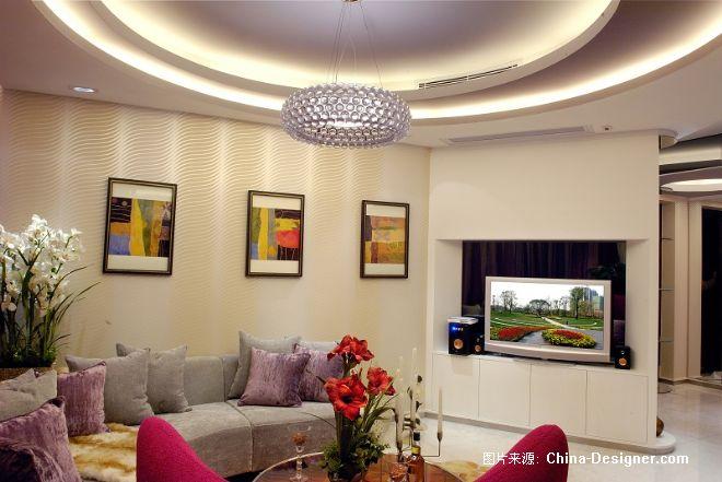 长沙君悦香邸---女爵――上-黄志达的设计师家园-三居,2009-2010中国家居设计流行趋势发布,女性,绚丽