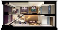 设计师家园-严林奇 样板间设计 温州单身公寓B户型