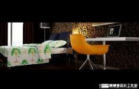 设计师家园-40平方的单身公寓样品房设计方案