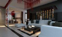 设计师家园-河北工业大学30号教师公寓-新中式风格