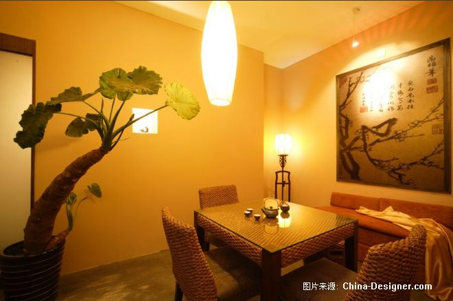 东方禅-林志宁的设计师家园-中式,茶室/茶馆/茶社