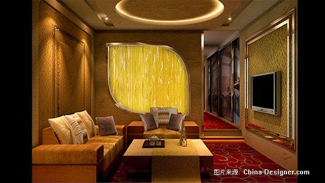 江苏天御温泉会所-张建勇的设计师家园-中式