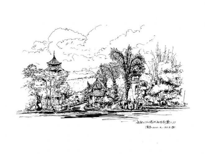海南三亚七仙瑶池度假酒店船屋会所设计作品图-任清泉的设计师家园