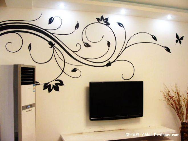 家居室内墙体彩绘