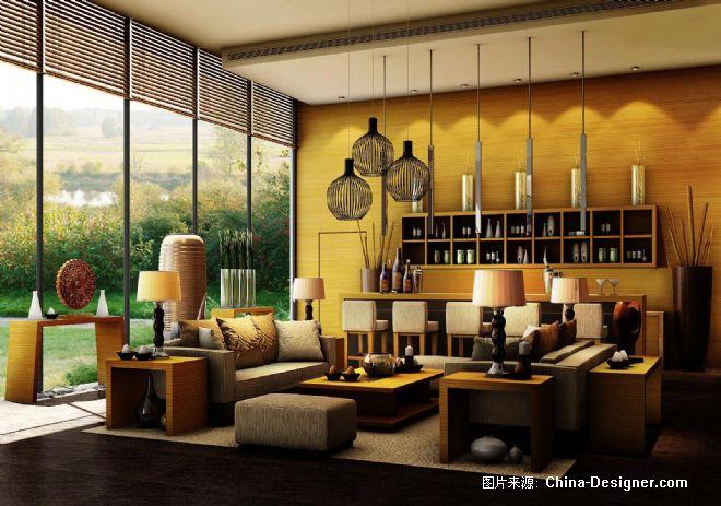 成都南天府创意公园售楼处-任清泉的设计师家园-100-200万,黄色,现代图片