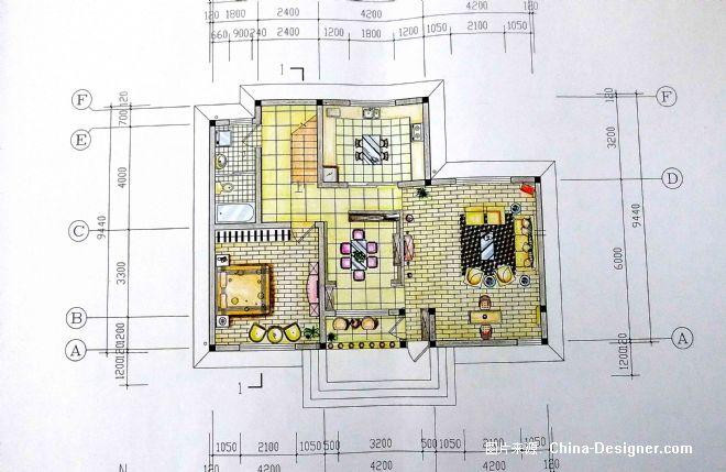 豪华别墅设计-刘璐的设计师家园-2010china-designer全国高校室内设计