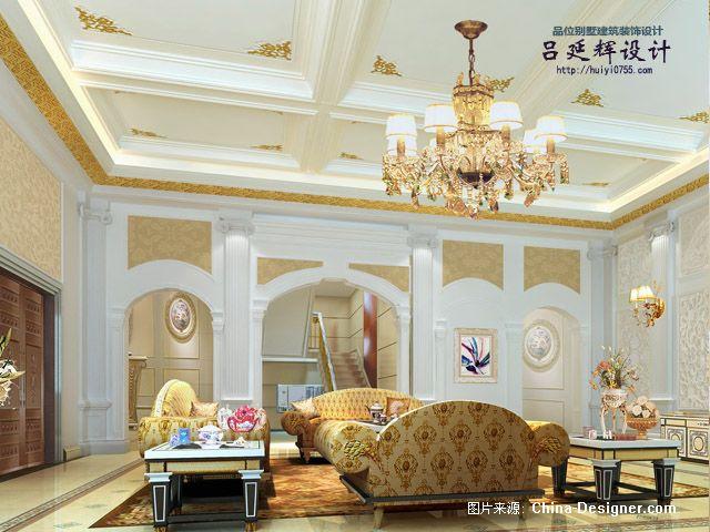 深圳怡景独栋别墅欧式建筑及室内设计手稿建筑及室内设计篇-吕延辉的