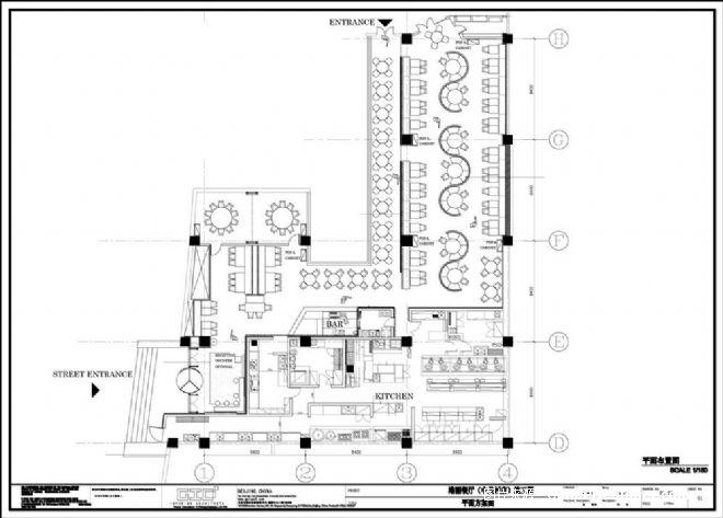 港丽餐厅-利旭恒的设计师家园-200万以上