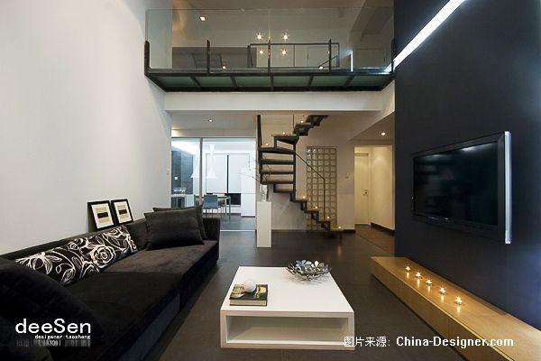 深蓝-陶胜的设计师家园-现代,黑色,5-10万