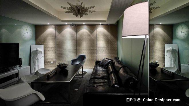 道和设计办公室-高雄的设计师家园-黑色