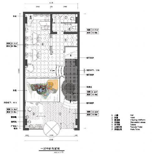 朗�o骏景售楼处-市区-马辉的设计师家园-白色,售楼处,欧式