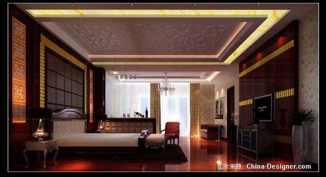 佛山顺德黄小姐别墅-叶鹏的设计师家园-客厅