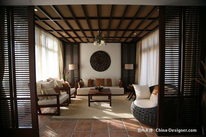 海南卡森博鳌亚洲湾-曾莹的设计师家园-中式,现代,温馨,酒店