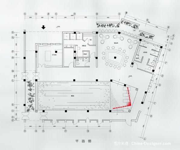嘉兴月河客栈(公共部分)-曾莹的设计师家园-现代,沉稳,客栈
