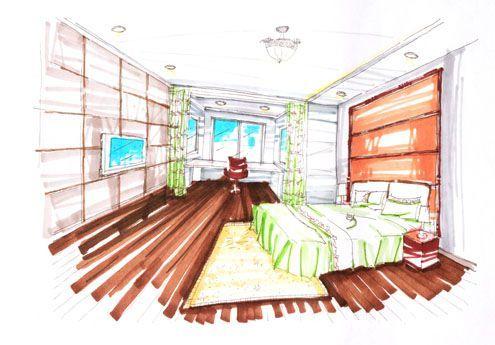 7,卧室手绘图
