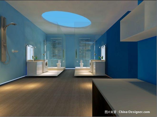 四维卫浴专卖店形象设计大赛-马鸿敬的设计师家园-专卖店,现代