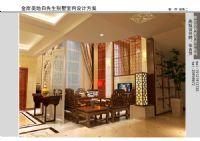设计师家园-吴忠金岸美地别墅室内设计