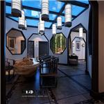 设计师家园-西安休闲会所室内设计-正德新中式会所