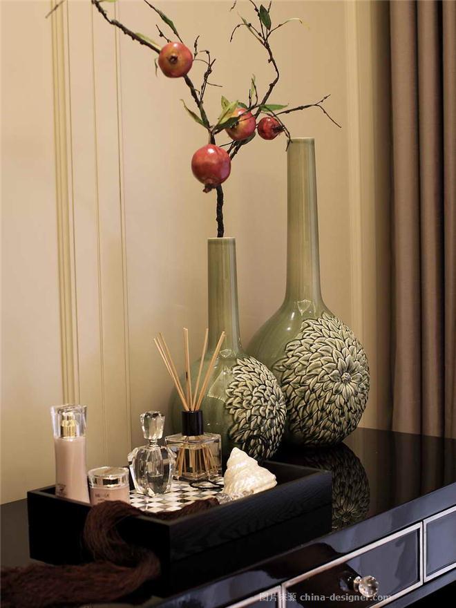 南通中港皇家花园2期A5样板房设计-周欣宇的设计师家园-住宅公寓样板间